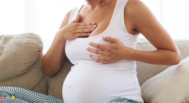 Вероятность обвисания груди с имплантами после беременности
