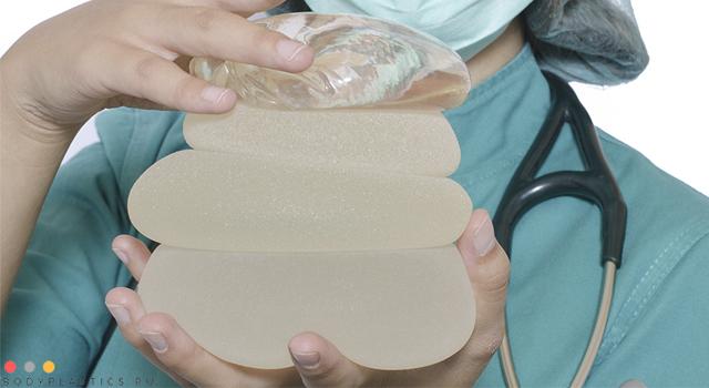 разная текстура имплантов