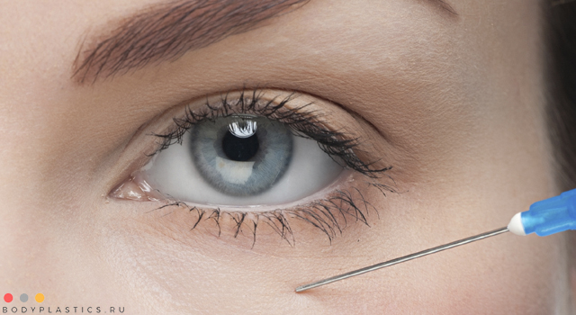 Косметологические процедуры от грыж под глазами
